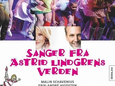 Astrid Lindgren med Det Norske Blåseensemble