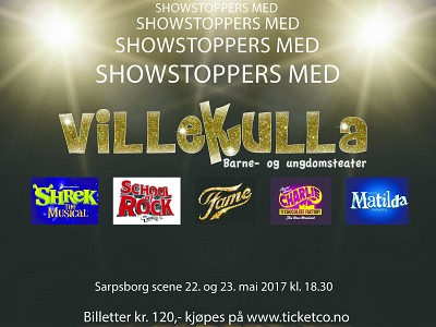 Showstoppers - snart utsolgt.